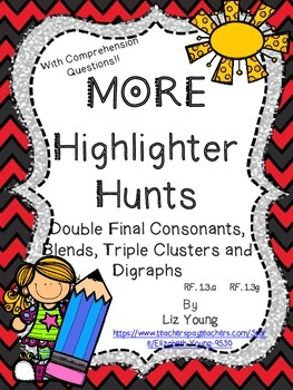 Highlighter Hunts with Digraphs and MORE!