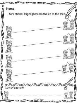 Highlighter Printables ~ Christmas Edition