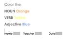 Highlighting - Nouns, Verbs, Adjectives