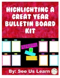 Highlighting a Great Year Bulletin Board Kit
