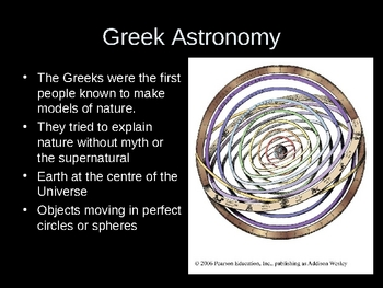 Highlights in Astronomical History Presentation (PPT Kepler)