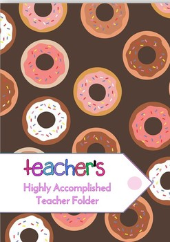 Highly Accomplished Teacher Accreditation Folder (Australia)