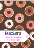Highly Accomplished Teacher Accreditation Folder (Australia)