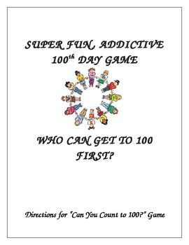Highly Addictive 100 Things to Count Game 100th day ADAPTABLE!