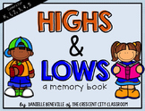 Highs and Lows: A Memory Book for Reflecting on the Best &