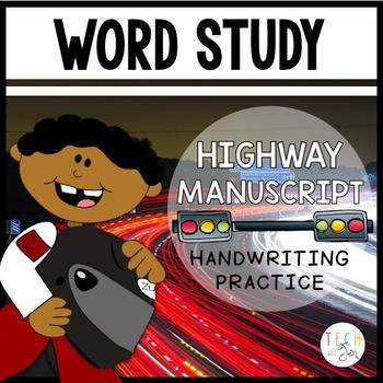 Highway Manuscript: Interactive Handwriting Practice for Kids