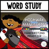 Highway Manuscript: Interactive Handwriting Practice for Kids