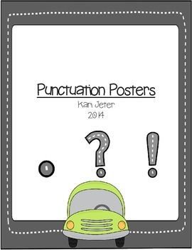 Highway Punctuation Posters