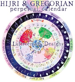 Hijri Calendar, Perpetual Muslim Calendar, Islamic Calendar