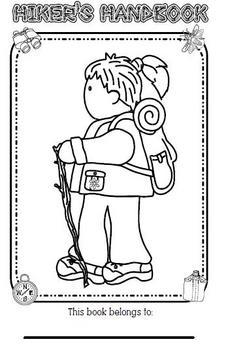 Hiker Back To School Book