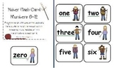 Hiker Flash Card Numbers 0-12 (UPDATED)