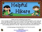 Hiking Helpers Job Chart