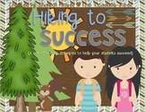 Hiking to Success {A Test Taking Unit Where Students Hike to Success}