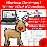 Funny Christmas Writing Prompts- What if? {Christmas Activ