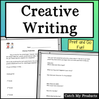 Creative Writing Prompts : Hilarious Predictions