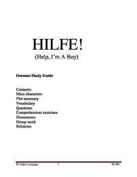 Hilfe! German Study Guide