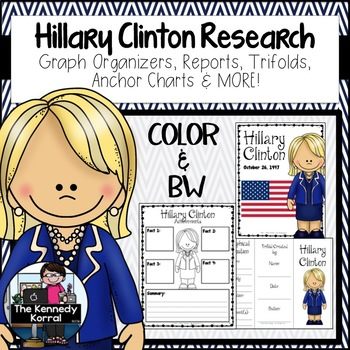 Hillary Clinton Research Report Bundle