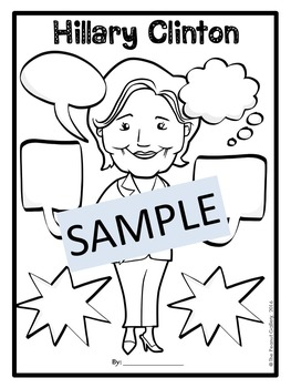 Hillary Clinton Graphic Organizers