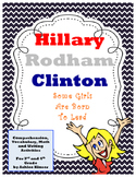 Hillary Clinton: Some Girls Are Born to Lead - Vocab, Comprehension and More