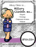 Hillary Clinton is....«Hillary Clinton es....»