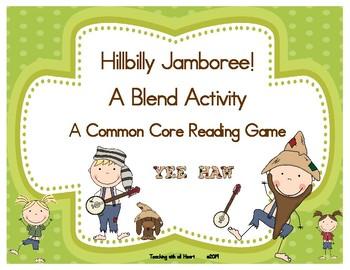 Hillbilly Jamboree!  A Blend Activity