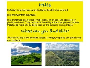 Hills Around the World Slideshow
