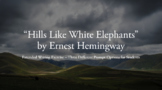 Hills Like White Elephants - Extended Writing Exercise