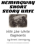 Hills Like White Elephants Lesson Plan
