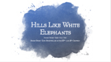 Hills Like White Elephants Lesson Plan on Internal/External Conflict