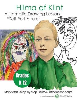"Hilma af Klint: Automatic Drawing Lesson ""Self Portraiture"""