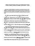 Hilton Head History through Arithmetic Tricks,Adding,Subtr