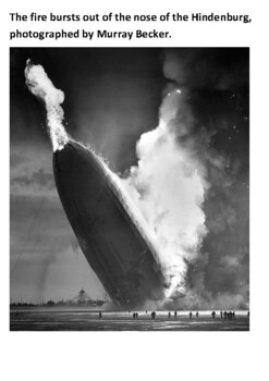 Hindenburg Disaster Handout