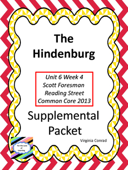 Hindenburg--Supplemental Packet--Reading Street Grade 5