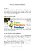Hindu Calendar Lesson plan, Information Text and Worksheet