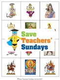 Hindu Gods and Goddesses Lesson plan, PowerPoint, Games and Worksheets