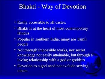 Hindu Gods and Goddesses Powerpoint
