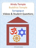 Hindu Temple, Buddhist Temple, & Synagogue Bundle: Digital Activity or PDF/Print