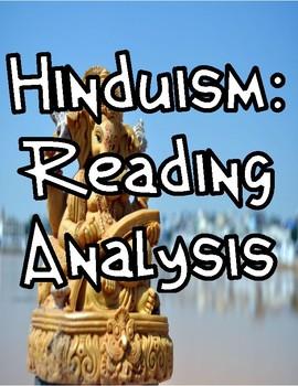 Hinduism: A Reading Analysis Worksheet