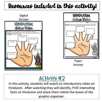 Hinduism Activity {NO PREP}