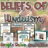 Beliefs of Hinduism  {Digital AND Paper} Distance Learning