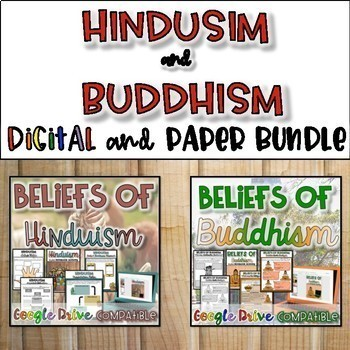 Hinduism & Buddhism Bundle