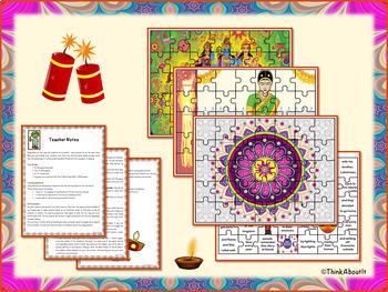Hinduism: Diwali Complete Unit of Study Bundle