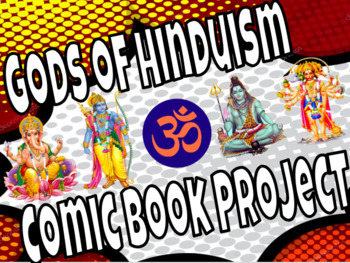 Hinduism Gods Comic Book