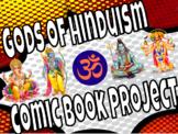 Hinduism Gods Comic Book