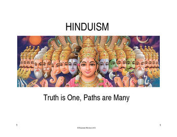 Hinduism: Overview with Primary Source Analysis Competition