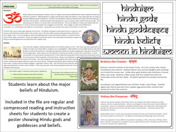 Hinduism - Poster Project