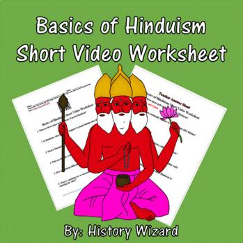Basics of Hinduism Short Video Worksheet