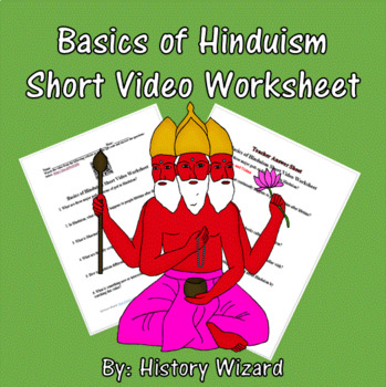 Basics of Hinduism Short Video Worksheet