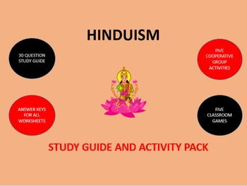 Hinduism: Study Guide and Activity Pack