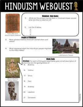 Hinduism Webquest
